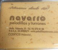 Turron Blando de Almendra - Product - fr