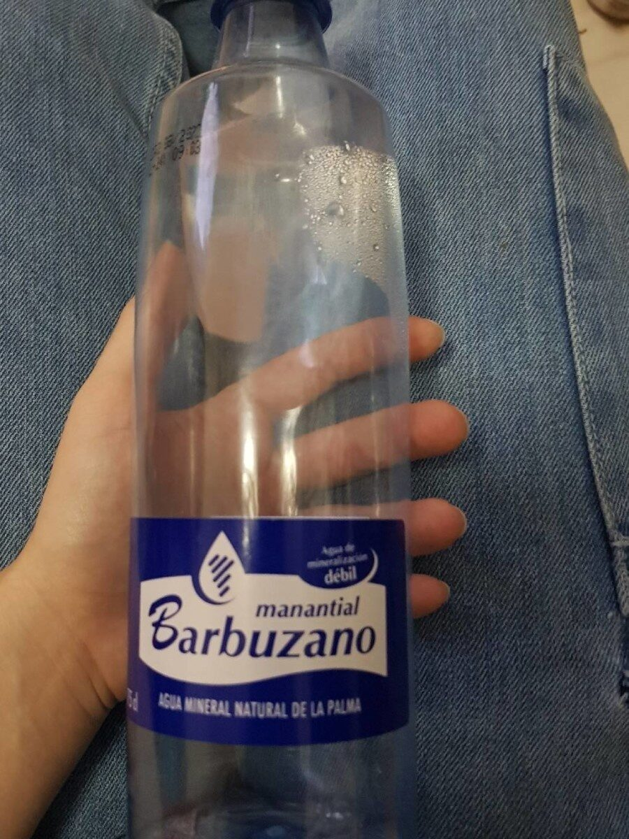 Agua Barbuzano - Product - es