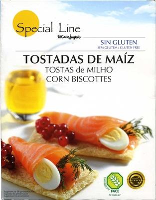 """Tostadas """"Special Line"""" Maíz - Producto - es"""