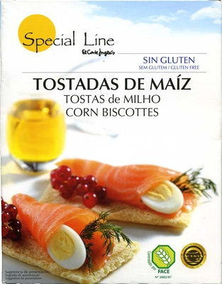 "Tostadas ""Special Line"" Maíz - Producto"