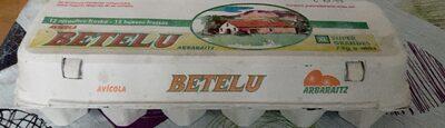 Docena de huevos betelu - Product - es