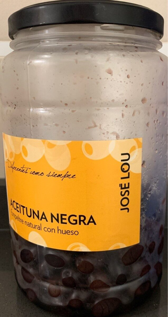 Aceituna negra con hueso - Product - es