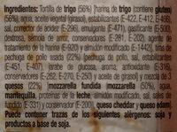 Flautas de pechuga de Pollo asado y 3 quesos - Ingredients
