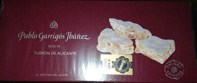 Turrón de Alicante - Producto