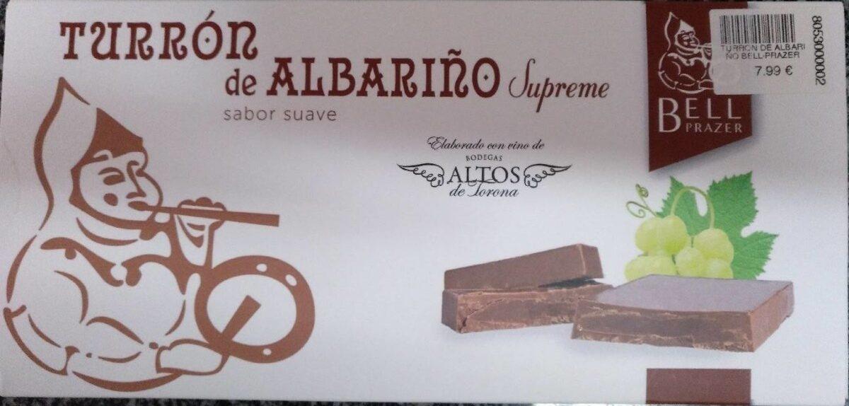 Turrón de albariño - Producte - es