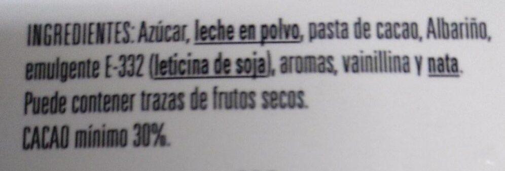 Turrón de albariño - Ingredients - es