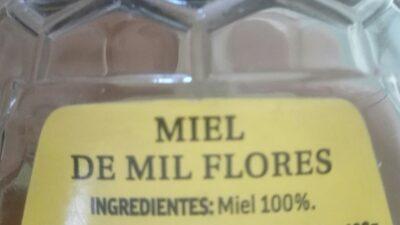 Miel de mil flores - Ingredientes - es