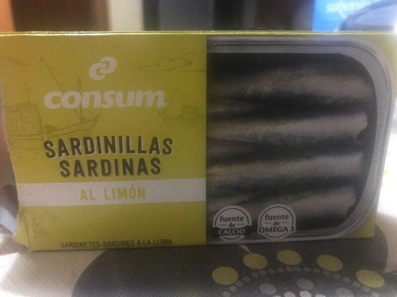 Sardinillas al limón - Produit - es
