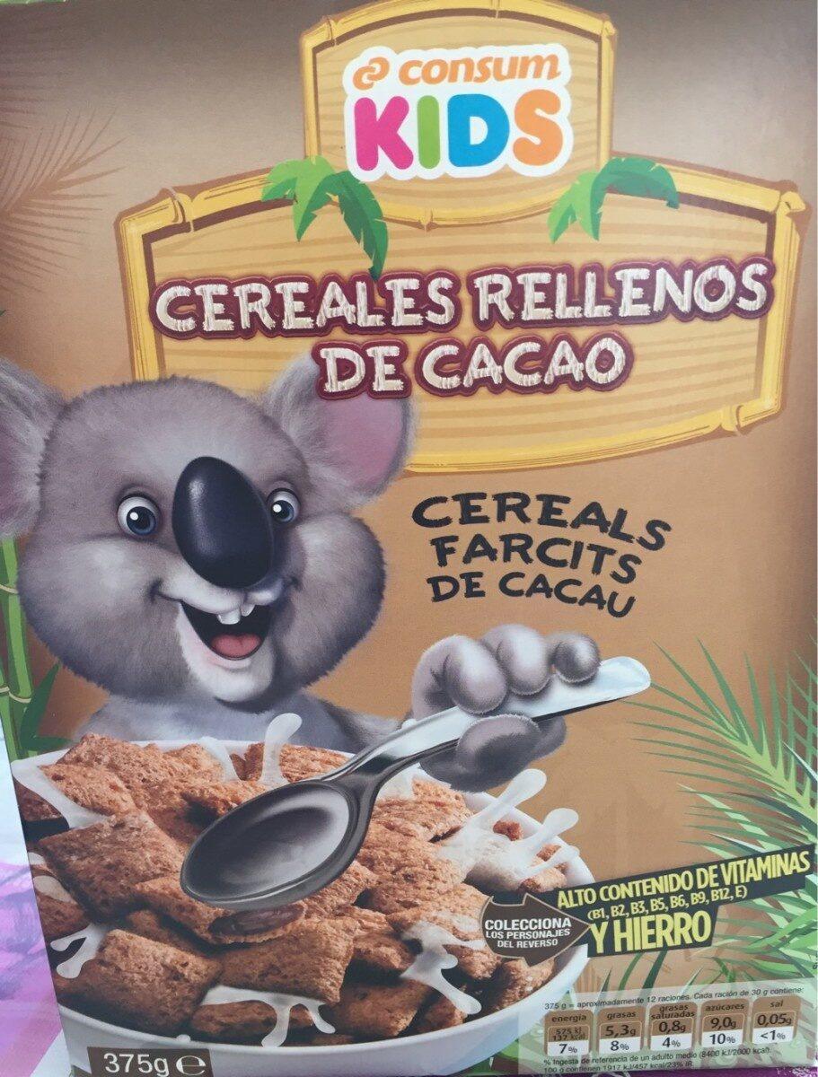 Cereales rellenos de cacao - Produit - es