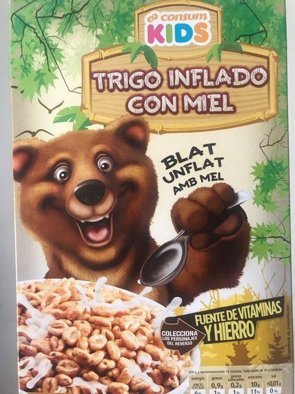 Trigo inflàdo con miel - Producte
