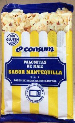 Palomitas de maíz, sabor mantequilla - Product