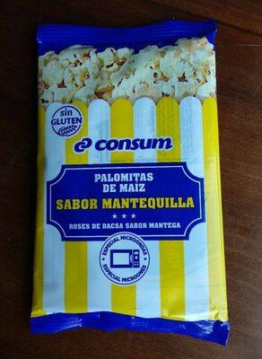 Palomitas de maíz, sabor mantequilla