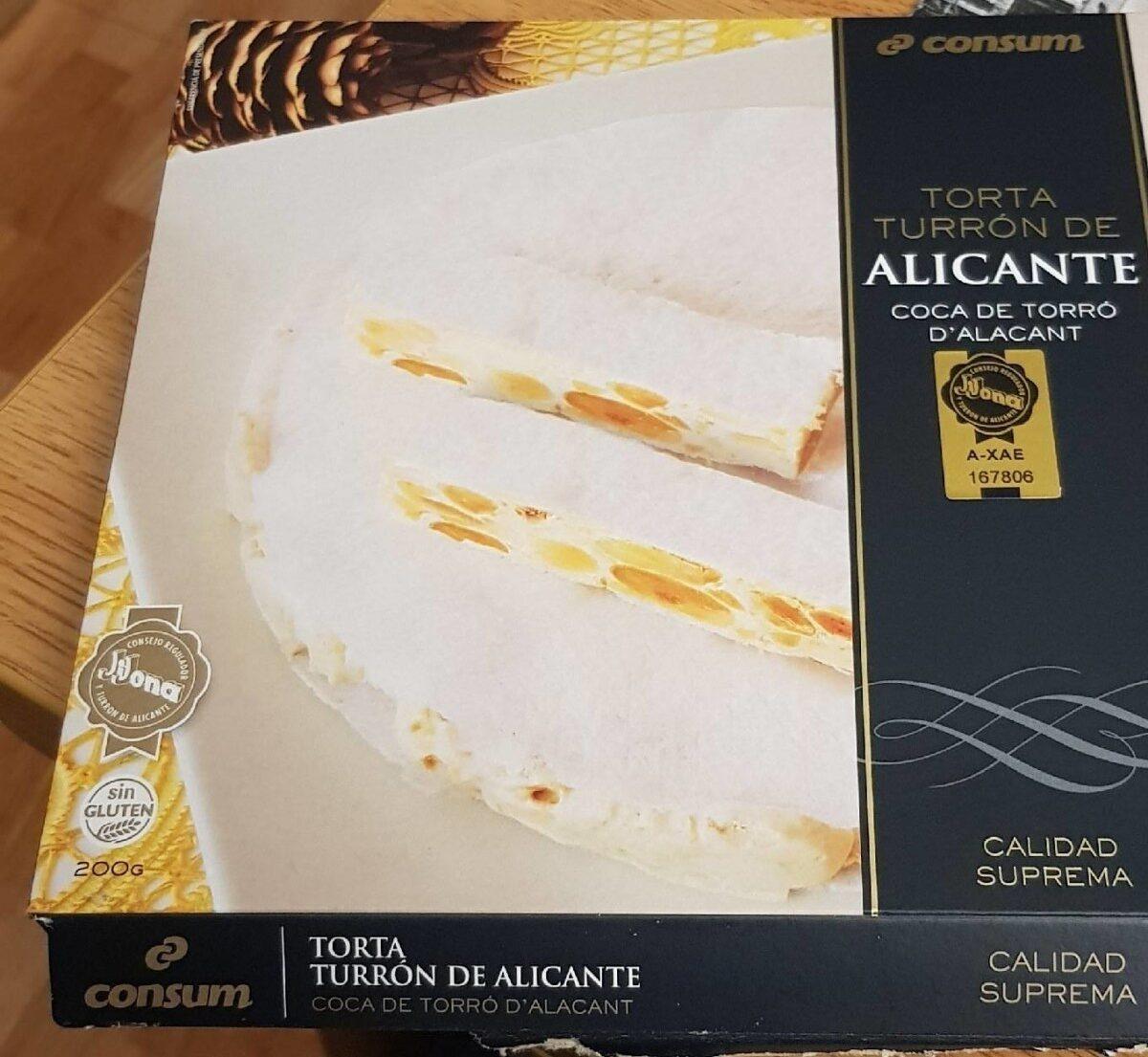 Torta turron de Alicante - Producto - es