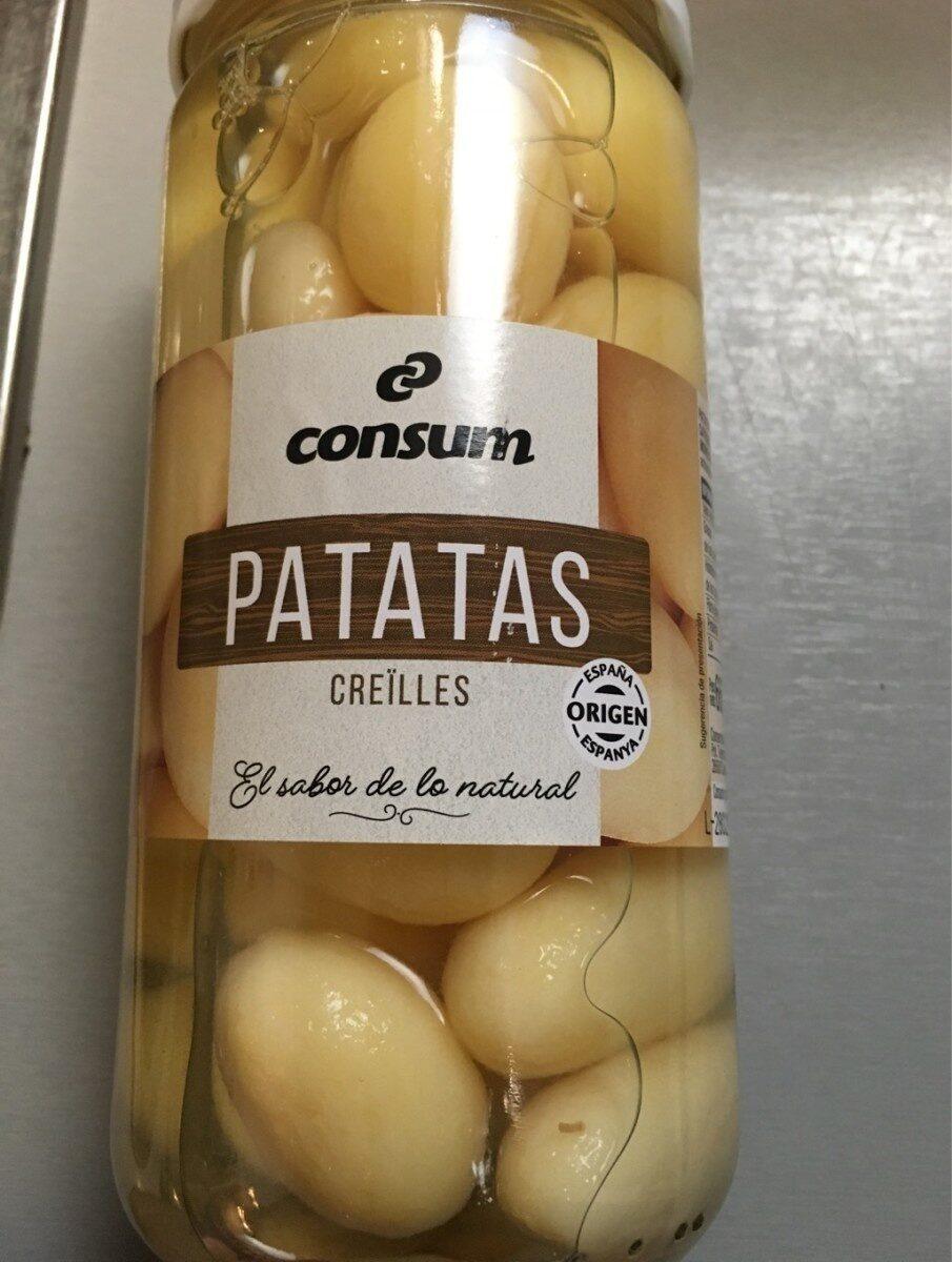 Patatas cocidas - Produit - es