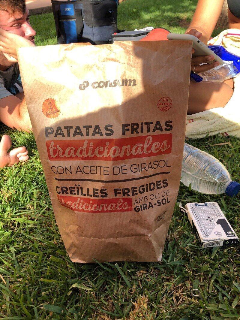 Patatas fritas tradicionales con aceite de girasol - Product - es