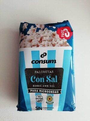 Palomitas de Maiz con sal - Product