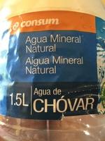 Agua mineral natural - Producto - en
