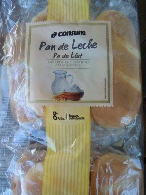 Pan de leche - Producto