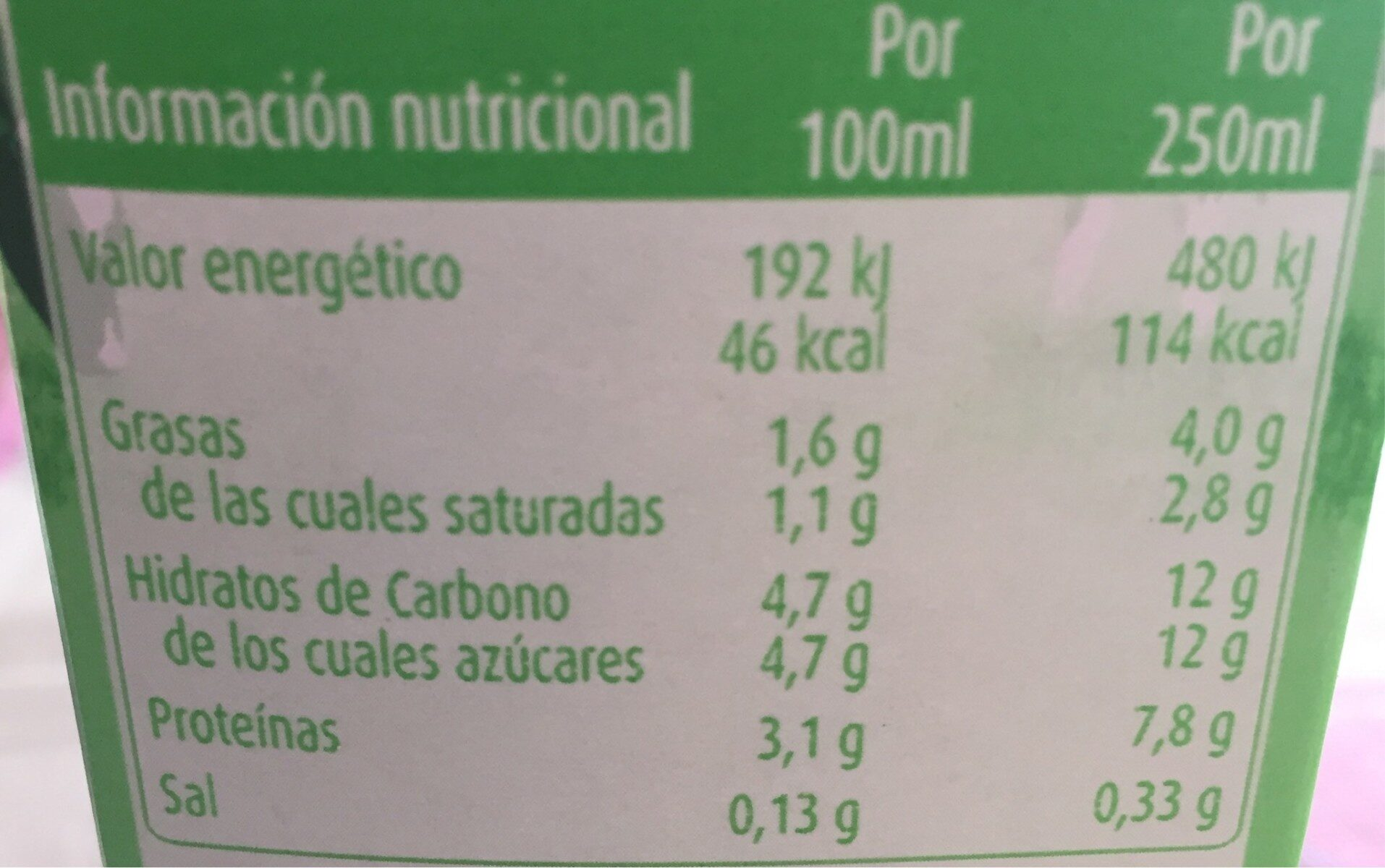 Leche Semidesnatada Consum 1 L