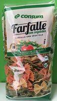 Farfalle con vegetales - Producto