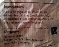 Pan de pueblo - Ingrediënten - es
