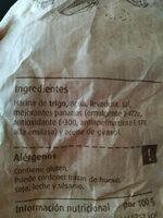 Pan de pueblo - Ingrediënten