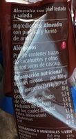 Almendras Tostadas Sal - Nutrition facts
