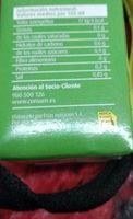 Caldo de Verduras - Información nutricional - es