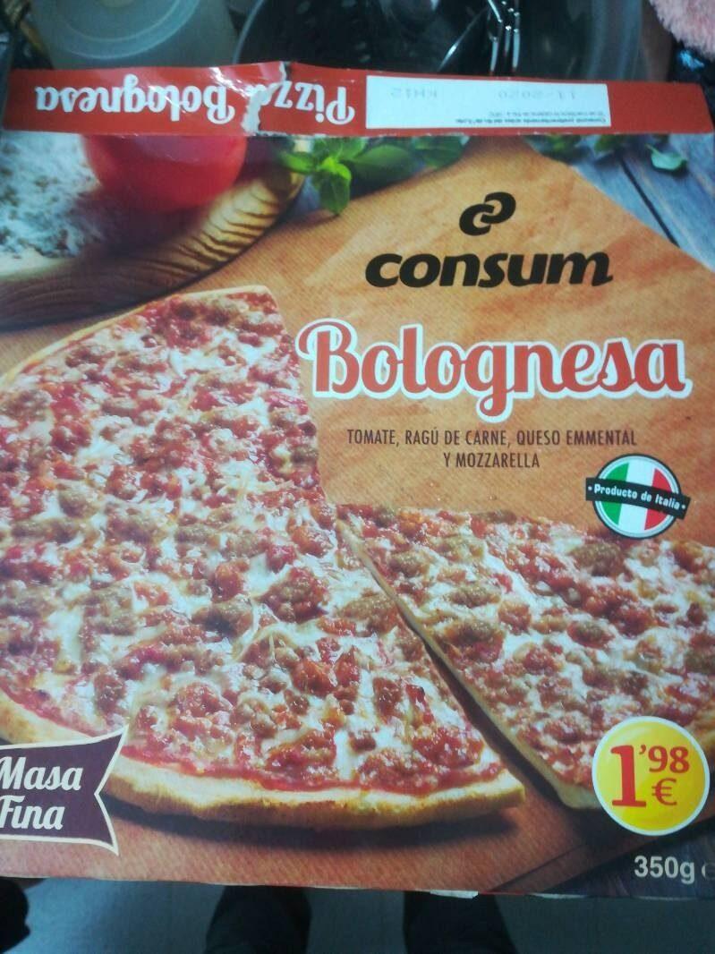 Pizza boloñesa - Product