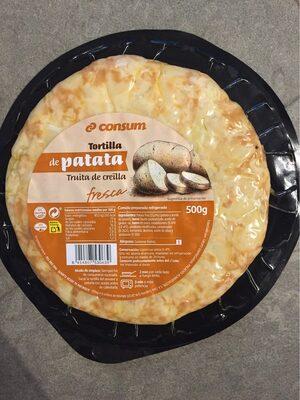 Tortilla de patata - Producte