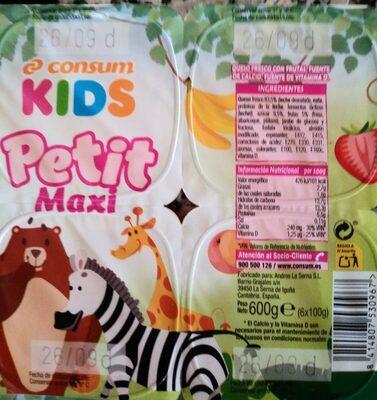 Consum Kids Petit Maxi - Producte - es
