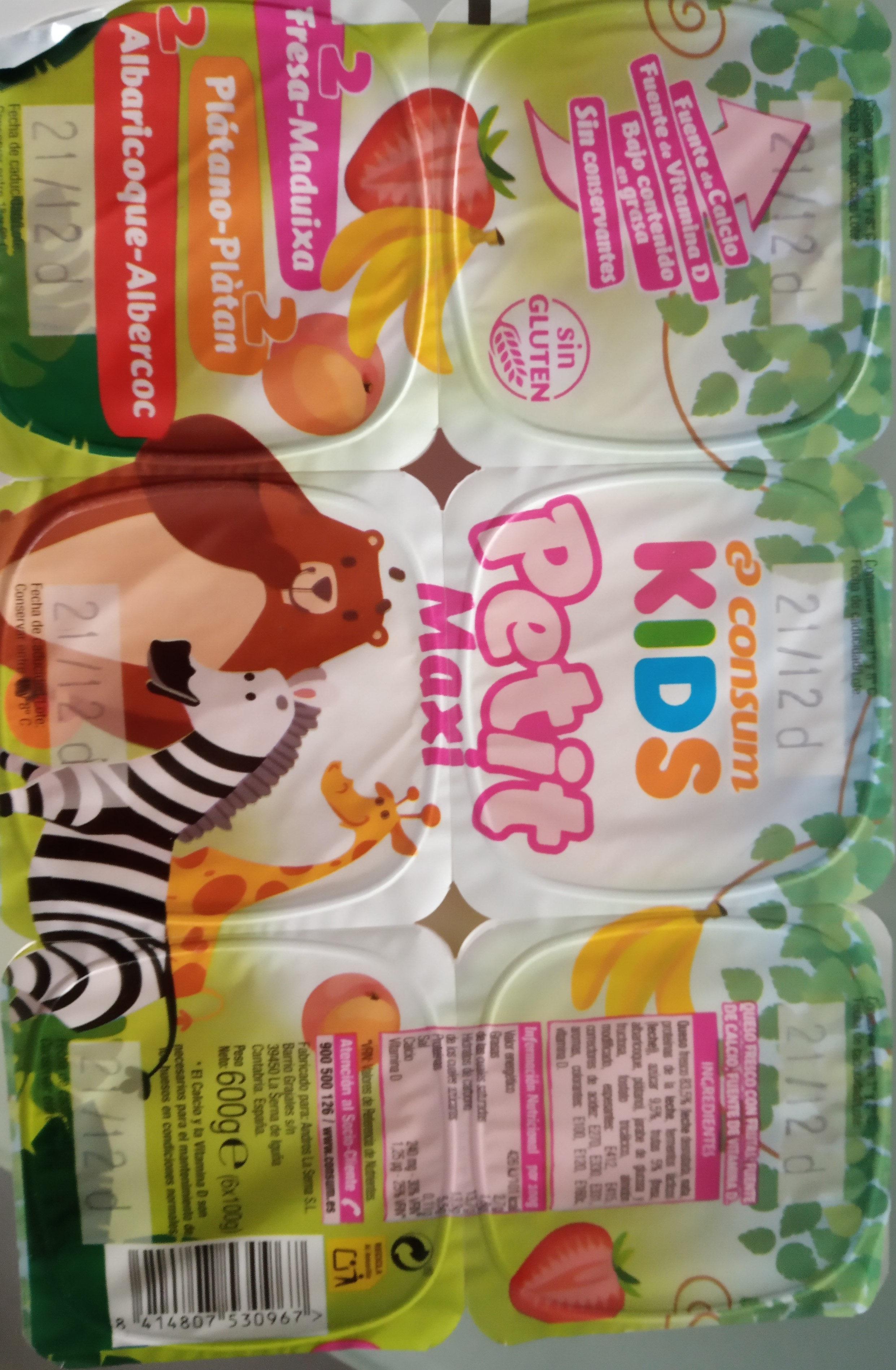 Consum Kids Petit Maxi - Producte