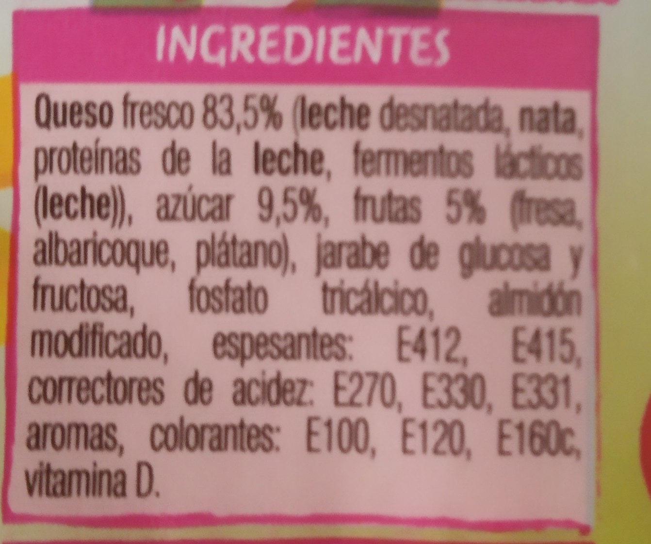 Consum Kids Petit Maxi - Ingredients - es