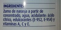 Naranja - Ingredientes