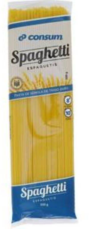 Spaghetti consum - Producto