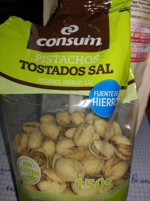 Pistachos tostados sal consum - Producto - es