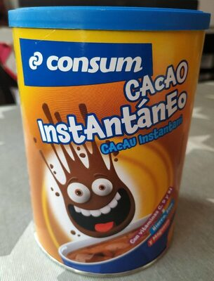 Cacao instantáneo - Producte