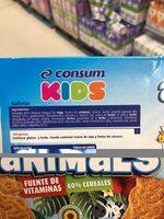 Animals galletas - Ingredientes