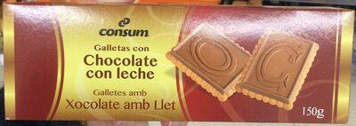 Galletas con chocolate con leche - Producto - es