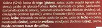 Galletas con chocolate con leche - Ingredientes - es