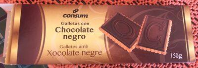 Galletas con chocolate negro - Product - es