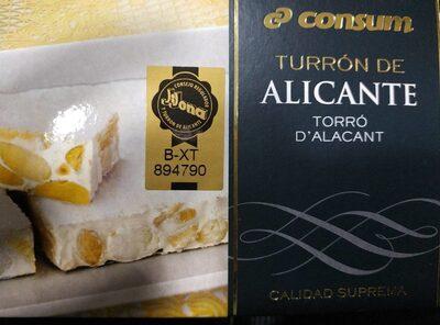 Turrón de Alicante - Producto - es
