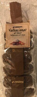 Valencianas al cacao - Producte