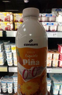 Yogur líquido Piña