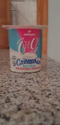 Yogur cremoso natural edulcorado