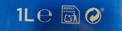 Bebida de almendras sin azúcares - Instruction de recyclage et/ou informations d'emballage - es