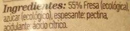 Mermelada fresa - Ingredientes