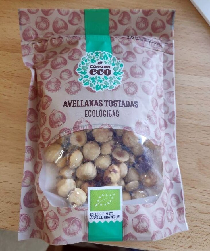 Avellanas tostadas ecológicas - Product - es