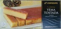 Turrón yema tostada - Producte - es