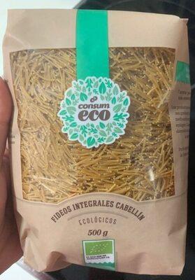 Eco fideos integrales cabellin